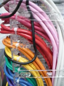 Wire Management Detail