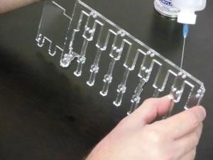 Power Card Top - Gluing Process 14