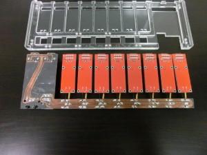 Power Card Electronics - Underside Detail