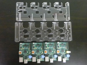 Raspberry Pi Card - All Assembled Parts