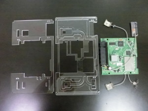 Router Card - All Parts Assembled