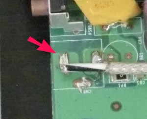 Router Card - Circuit Board Modification - Detail 2
