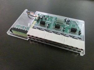 Ethernet Switch Card - Fully Assembled
