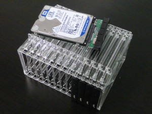 Hard Drive Array - Populated