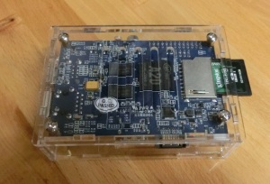 Banana Pi in Case Bottom