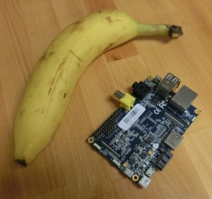 Banana Pi for Scale